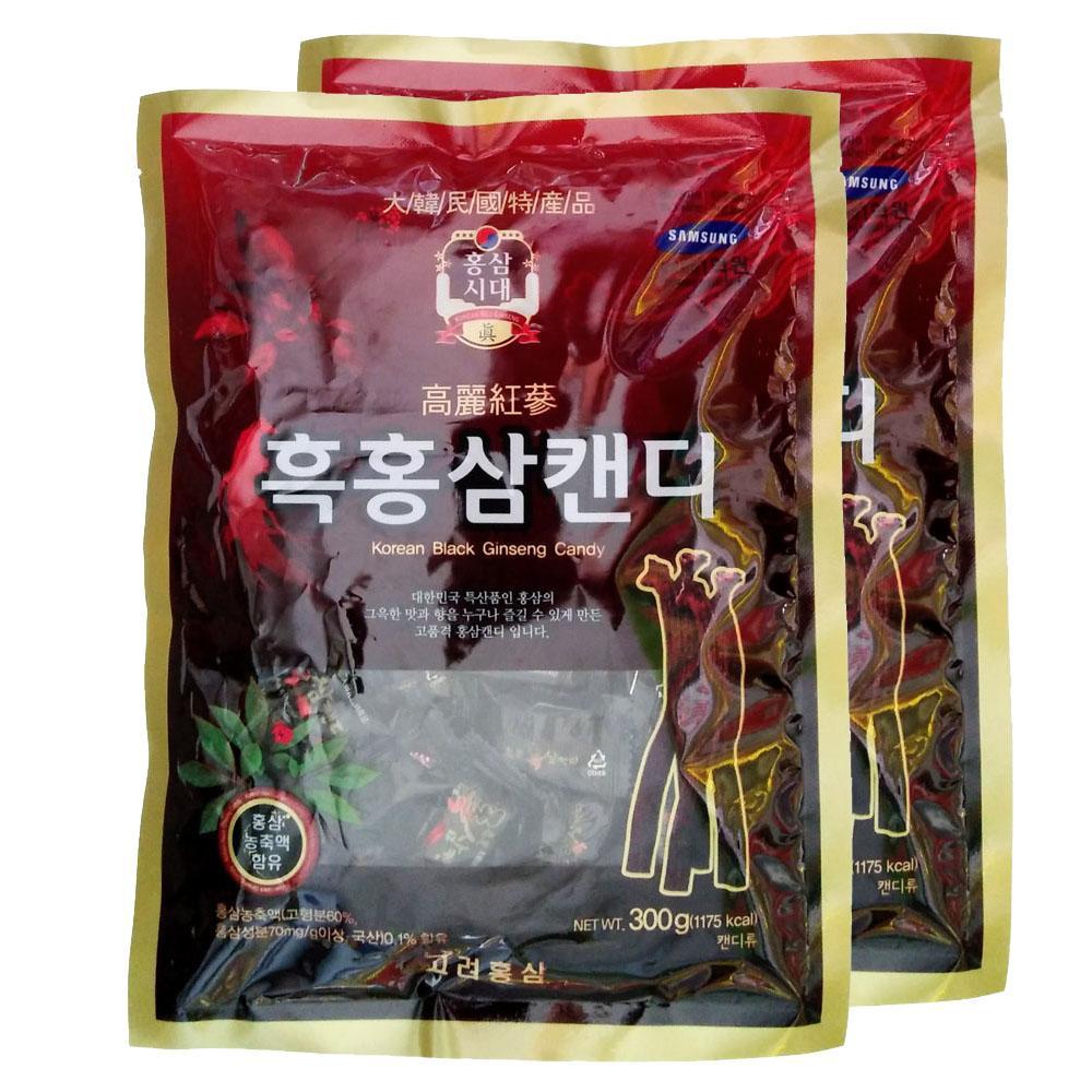 Kẹo Hắc Hồng Sâm 300gr